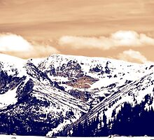Snowy Mountains in Colorado by itsrturn