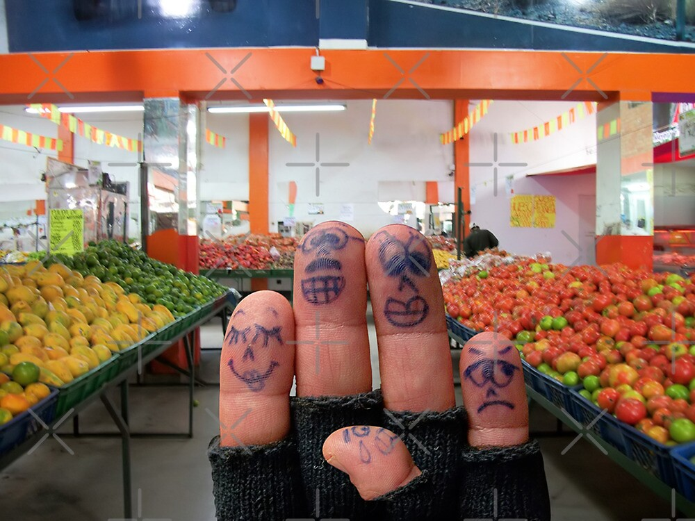 Buying Fruits and Veggies by Maria  Gonzalez