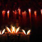 DisneyLand Castle Fireworks by Joseph Cox