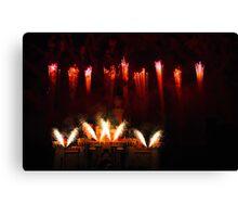 DisneyLand Castle Fireworks Canvas Print