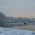 South River Sunrise by James Jurena