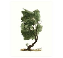 Little Tree 127 Art Print
