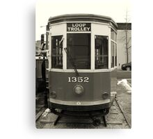 Loop Trolley Canvas Print