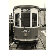Loop Trolley Photographic Print