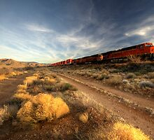 Westbound Freight  by Rob Hawkins