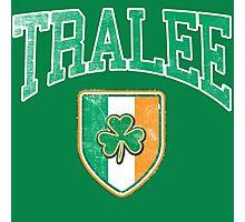 Tralee, Ireland with Shamrock Photographic Print