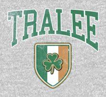 Tralee, Ireland with Shamrock One Piece - Long Sleeve