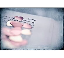 love is Photographic Print