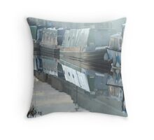 Painterly Reflection Throw Pillow