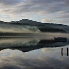 Smoke on the water - Derwent Water Keswick by monkeyferret
