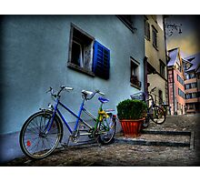 A Bicycle Built For Two Photographic Print