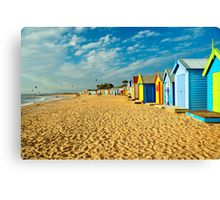 Coloured Boxes Canvas Print