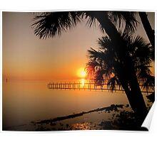 Sunrise in Florida Poster