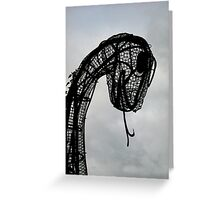 The Loch Ness Monster, Scotland, UK Greeting Card