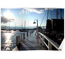 Bowen's Wharf Newport Poster