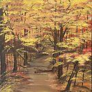 Autumn Splendor by Dawn  Hawkins