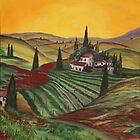 Tuscany dream by Dawn  Hawkins