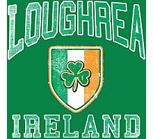 Loughrea, Ireland with Shamrock Photographic Print