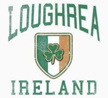Loughrea, Ireland with Shamrock Baby Tee