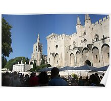 The exciting town of Avignon Poster