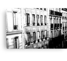 Paris Hotels Canvas Print