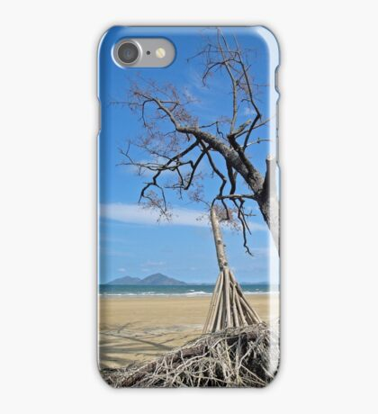 Dunk Island from North Mission Beach iPhone Case/Skin