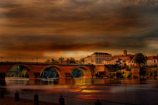 Bergerac and the Dordogne. by Irene  Burdell