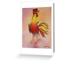 Mariano Rodriguez Cuban Gallo Rooster Painting Greeting Card
