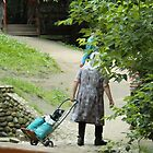 Old Russian woman by karina5