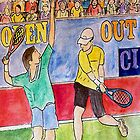 Tennis Strokes by Monica Engeler