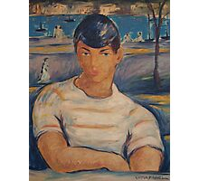 Victor Manuel Cuban Sailor Painting Photographic Print