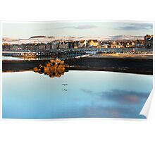 Wintery Saltcoats  Poster