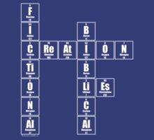 Fictional Creation Bibical Lies - White text by Paul Duckett