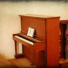 Cades Cove Church Piano by Shane Jones