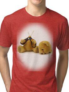 Suicide Bear Tri-blend T-Shirt