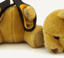 Suicide Bear Sticker