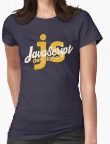 Javascript Developer - JS Womens Fitted T-Shirt