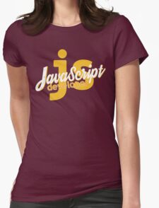 Javascript Developer - JS Womens Fitted T-Shirt