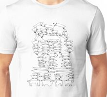 Stack of Dogs t-shirt Unisex T-Shirt