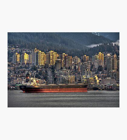 Cargo Cruiser Photographic Print