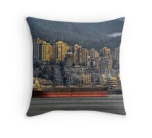 Cargo Cruiser Throw Pillow