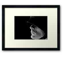 Portrait of a Mediaeval Man at Arms Framed Print