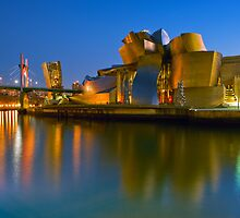 The Guggenheim Museum - Bilbao, Spain by Yen Baet