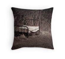 Nature's Bed Throw Pillow