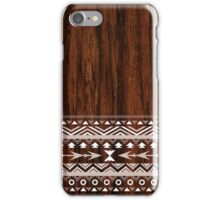 Wooded Tribal Design iPhone Case/Skin