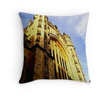 Front Elevation - Bristol Cathedral Throw Pillow