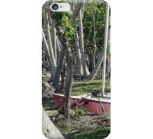 Bingil Bay boat and trees iPhone Case/Skin