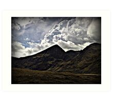 Carrauntoohill - Ireland's Highest Peak Art Print