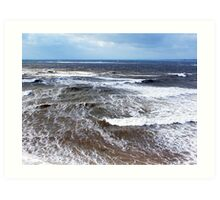 Wind and Sea Art Print