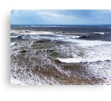 Wind and Sea Canvas Print